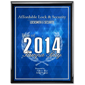 LOCKSMITH AWARD